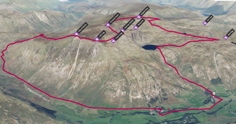 Lakes 3D MAP ROUTE