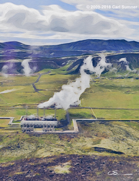 Iceland Thermal plant 2018