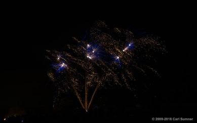 Haslington Fireworks Oct 2018