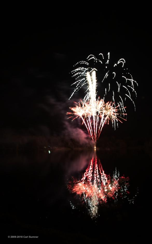 Trentham Gardens Fireworks October 2018