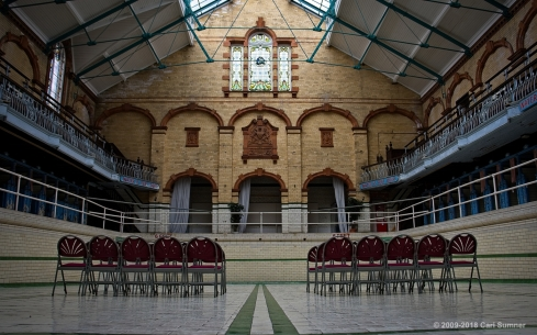Victoria Baths South Manchester internal photo shoot