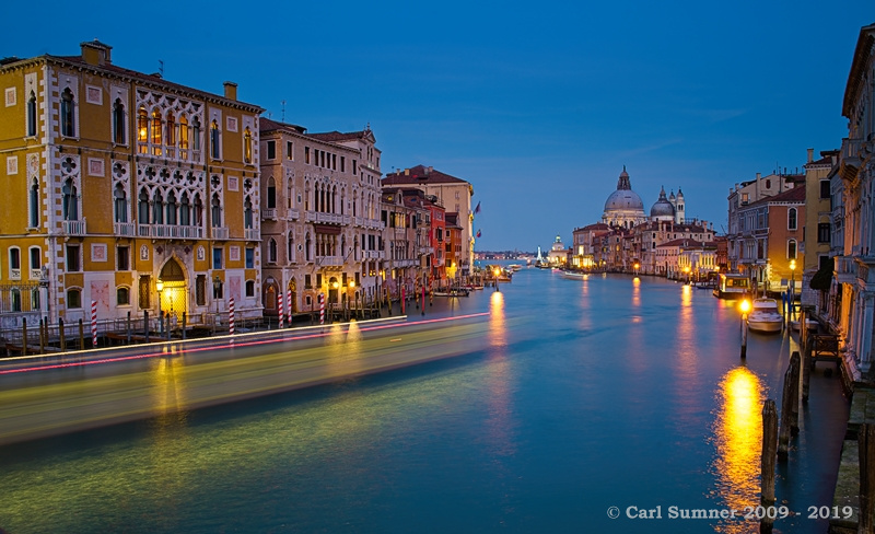 First night in Venice 24022019